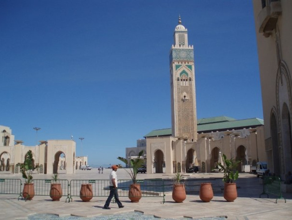 Second Largest Mosque in the World! Casablanca  Morocco