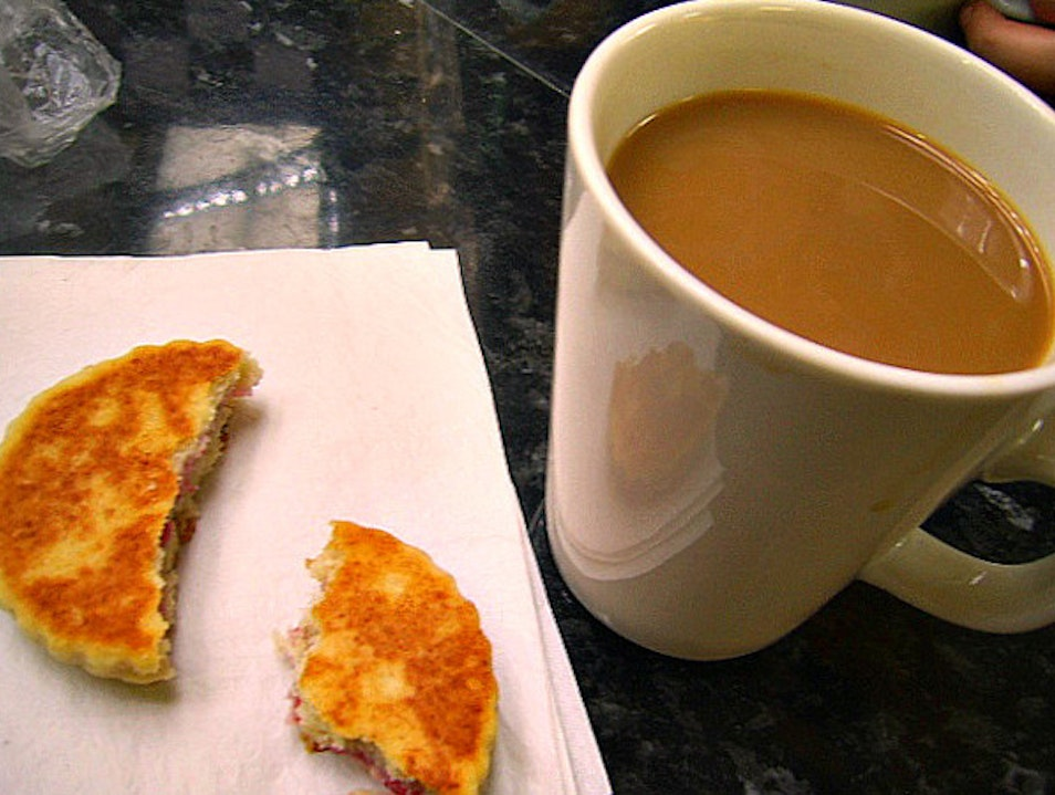 Coffee & Welsh cakes