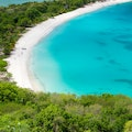 Deep Bay Beach Saint John  Antigua and Barbuda