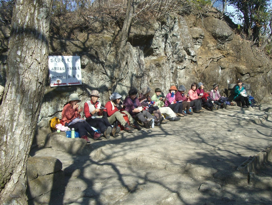 Women's hiking club, Mt. Nokogiri Futtsu  Japan