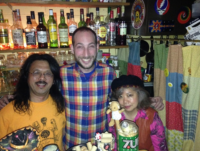 Take a Load Off at a Classic Japanese Hippie Bar/Cafe