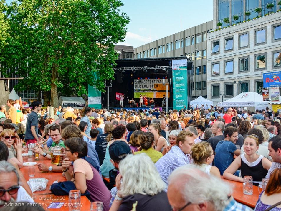 The Summer Festival of Culture Stuttgart  Germany