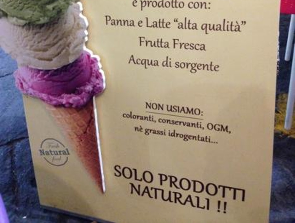 Best Gelato in Sorrento Sorrento  Italy