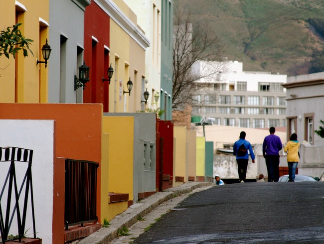 Bo-Kaap Colors in Cape Town