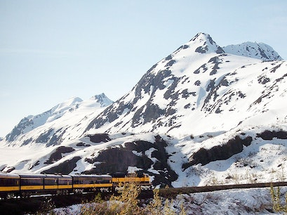 Alaska Railroad Depot Anchorage Alaska United States