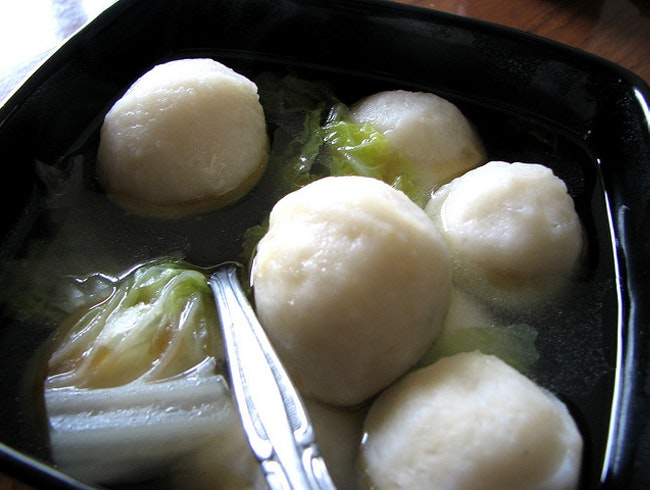 Piping Hot Fishball Soup