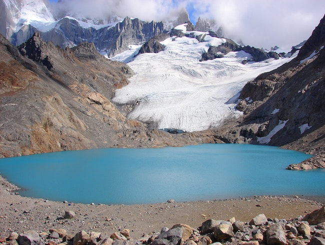 Hiking to Laguna de Los Tres