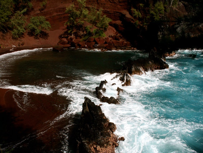 Secret Beach on Maui!