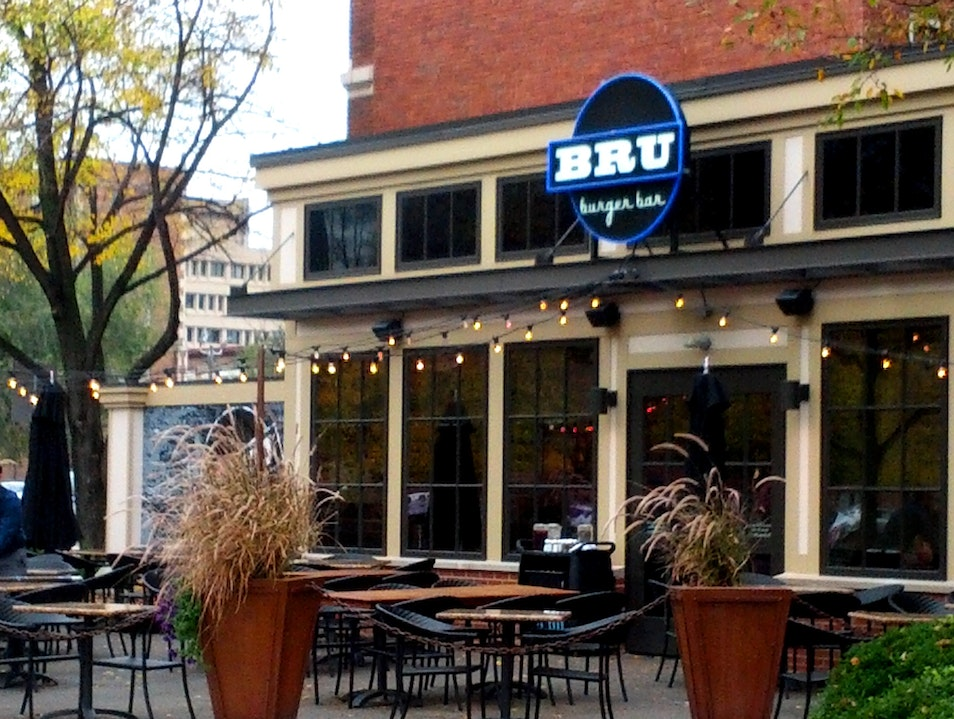Gourmet Burgers and Brews in Downtown Indy Indianapolis Indiana United States