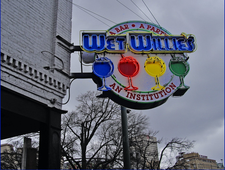 Grown-Up Slushies at Wet Willie's Memphis Tennessee United States