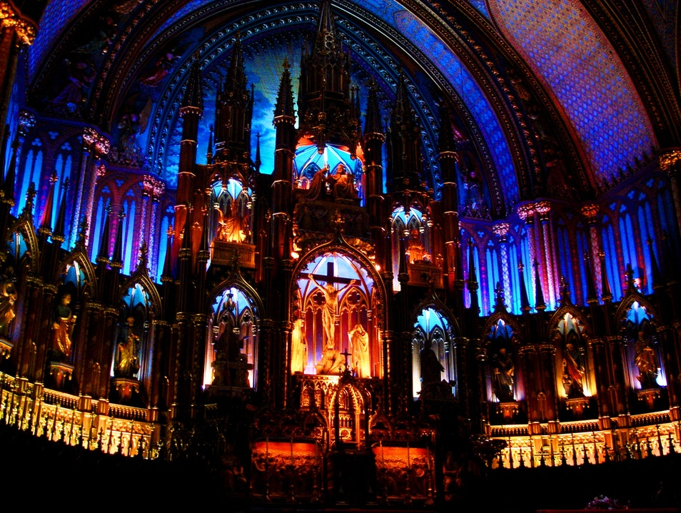 Technicolor Cathedral Montreal  Canada