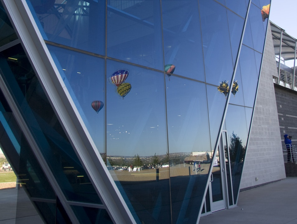 The Highest Heights at the Balloon Museum Albuquerque New Mexico United States