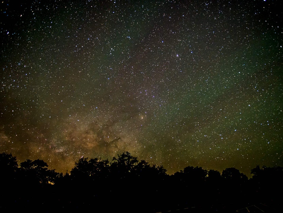 Silvery Stars at Copper Breaks Quanah Texas United States