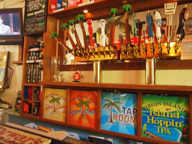 Sample Great Beers at The Tap Room, St. John