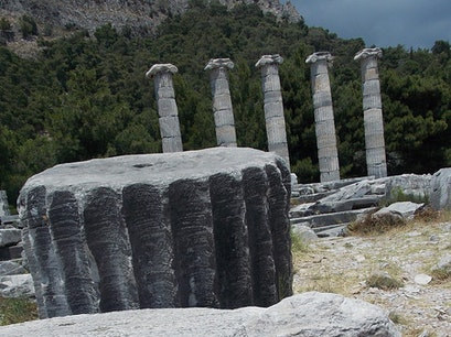 Priene Karacasu  Turkey
