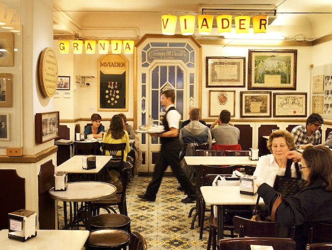 Granja M. Viader: Old-School Chocolate Decadence in Barcelona