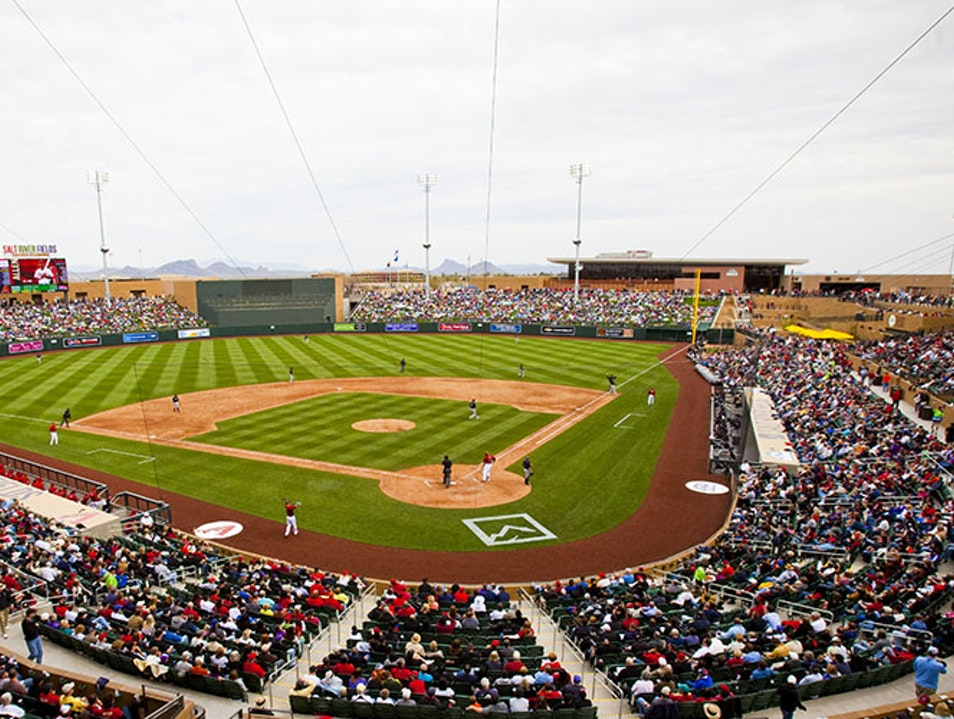 Salt River Fields Scottsdale Arizona United States