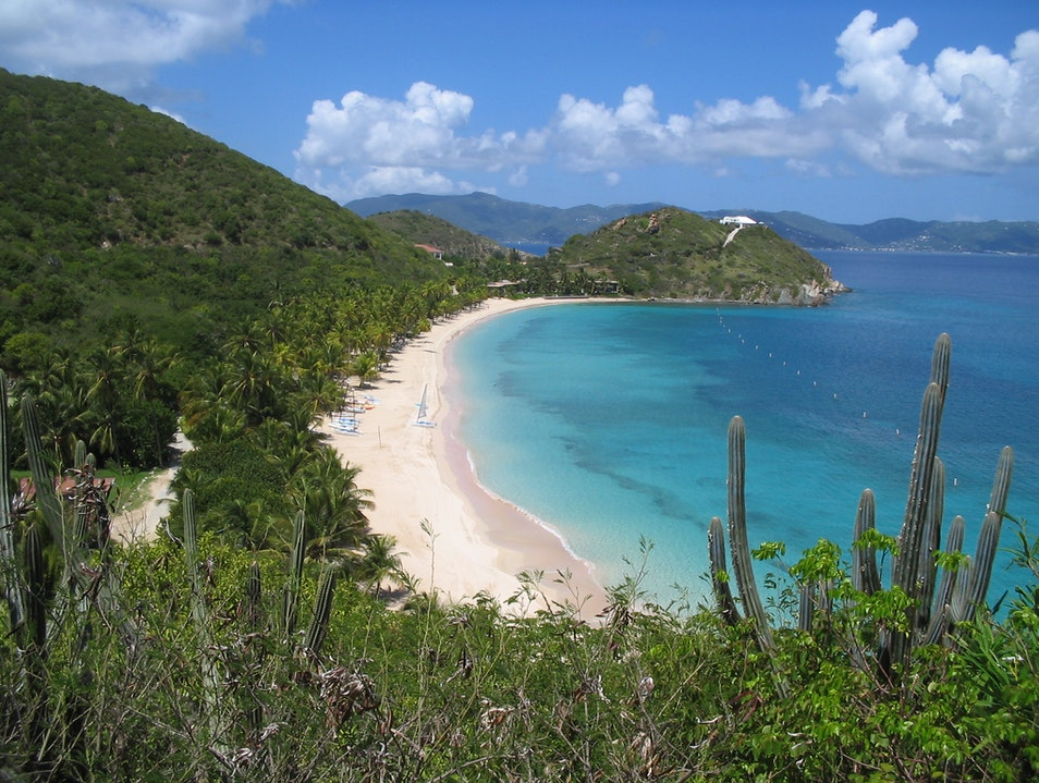 Pampered on Peter Island in the off-season Road Town  British Virgin Islands
