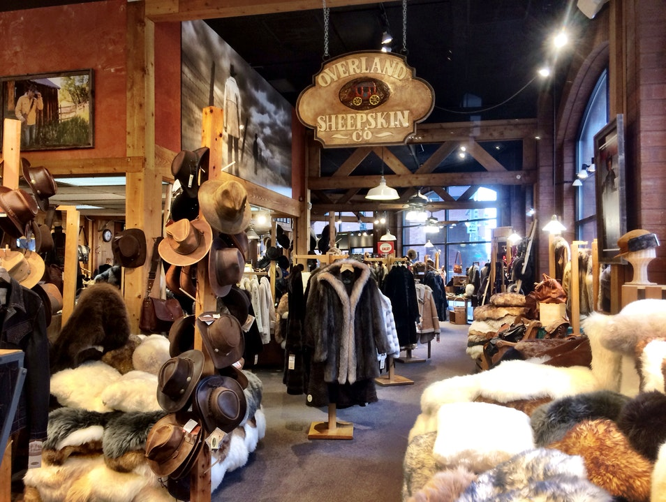 Warm Up at Overland Sheepskin Co Denver Colorado United States