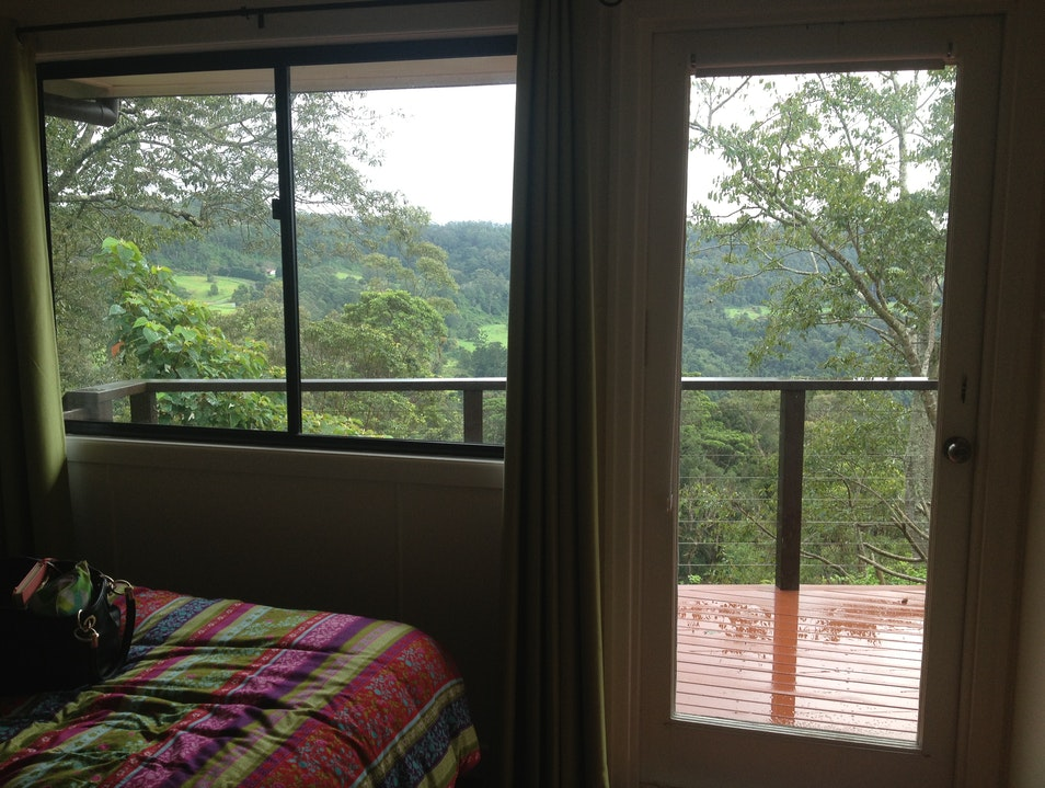 Room with a view at The Escarpment Mount Tamborine  Australia