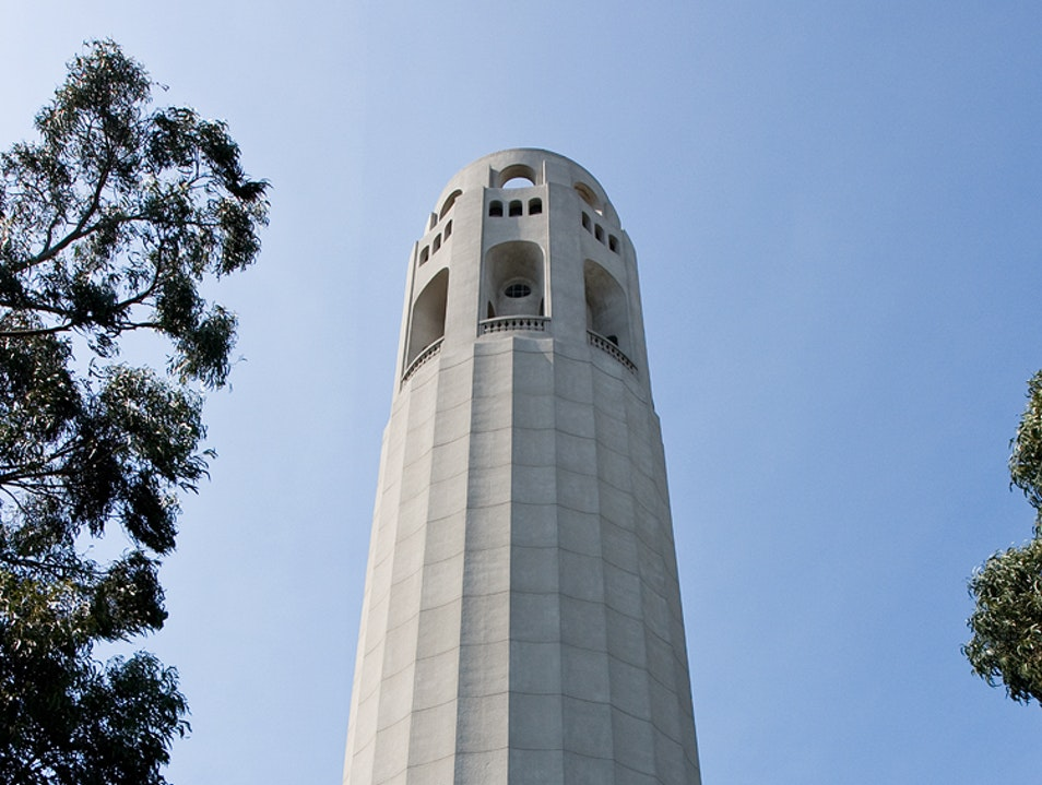 The Coit Tower San Francisco California United States