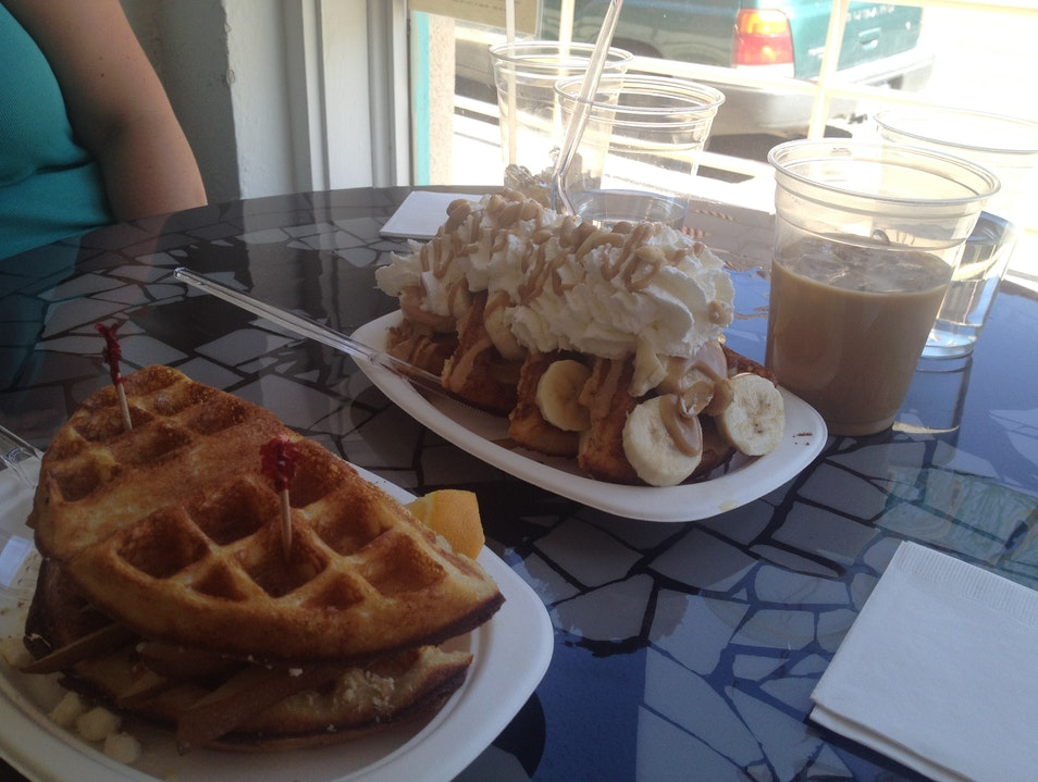 Dine on Wild Waffles at Passion Pie Cafe Truth Or Consequences New Mexico United States