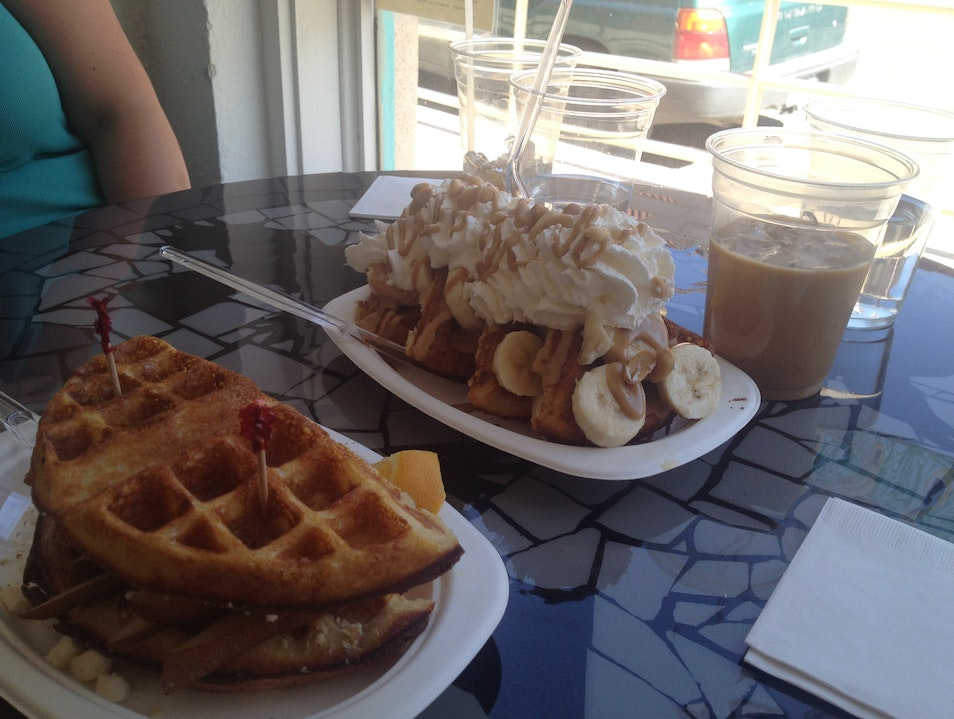 Dine on Wild Waffles at Passion Pie Cafe