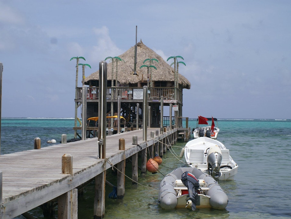 Palapa Bar - A Piece of Calm in the Heart San Pedro  Belize