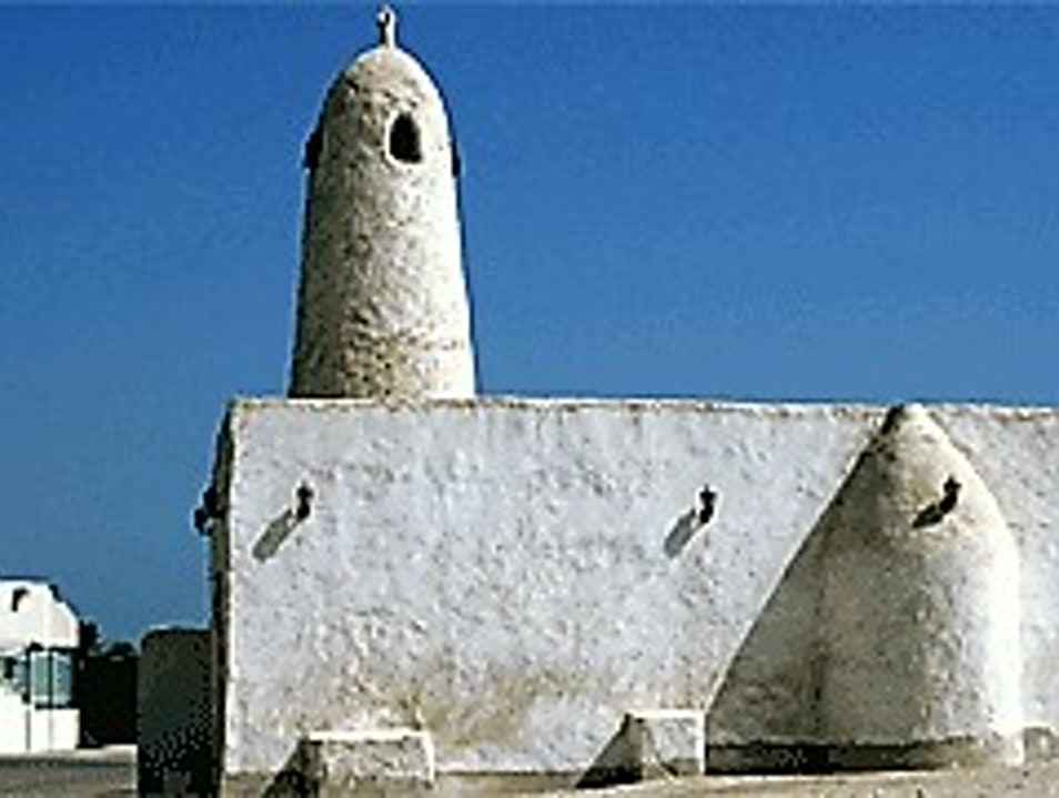 A Mosque Missing a MInaret Al Wakrah  Qatar