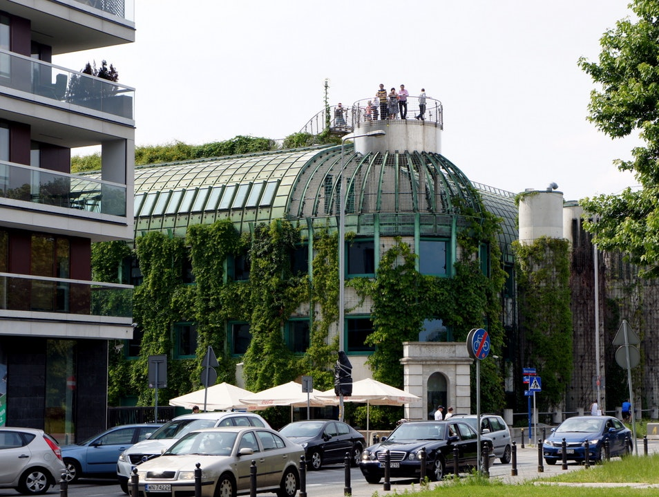 Roof Garden at the University of Warsaw