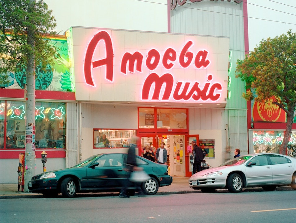 Head to Amoeba in the Haight for all Your Music Needs San Francisco California United States