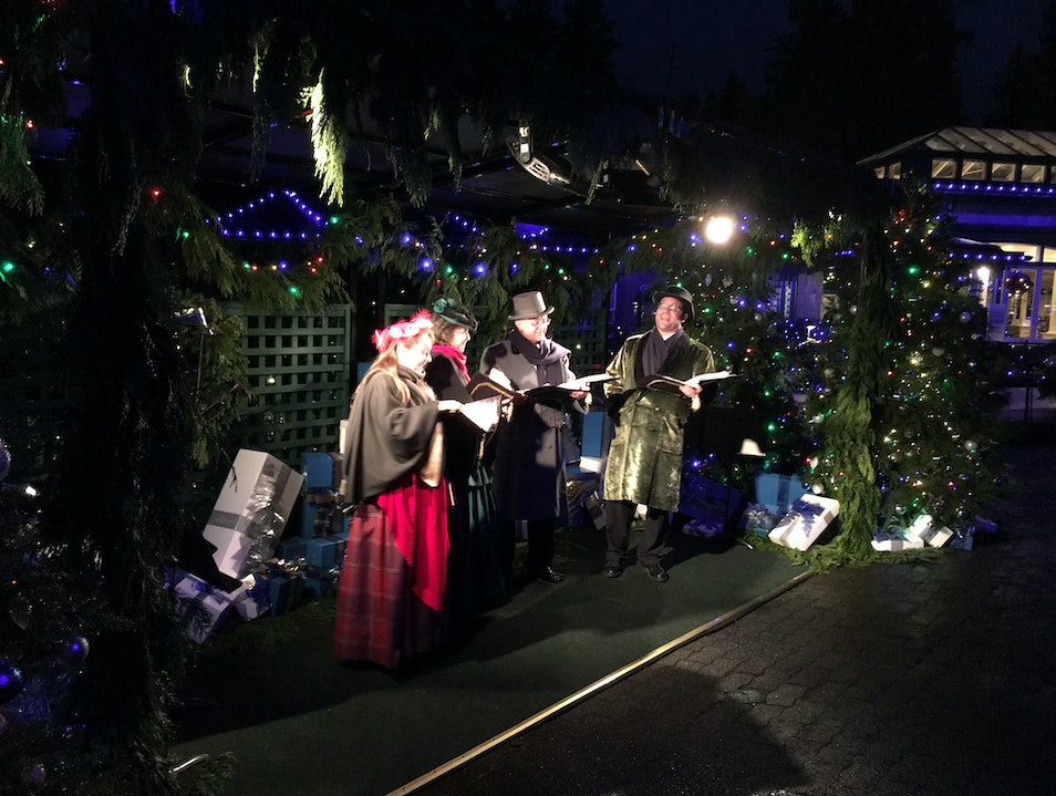 Christmas at the Gardens Brentwood Bay  Canada