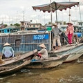 Saigon River Ho Chi Minh City  Vietnam