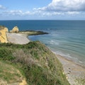 Normandy Beaches Sainte Marie Du Mont  France