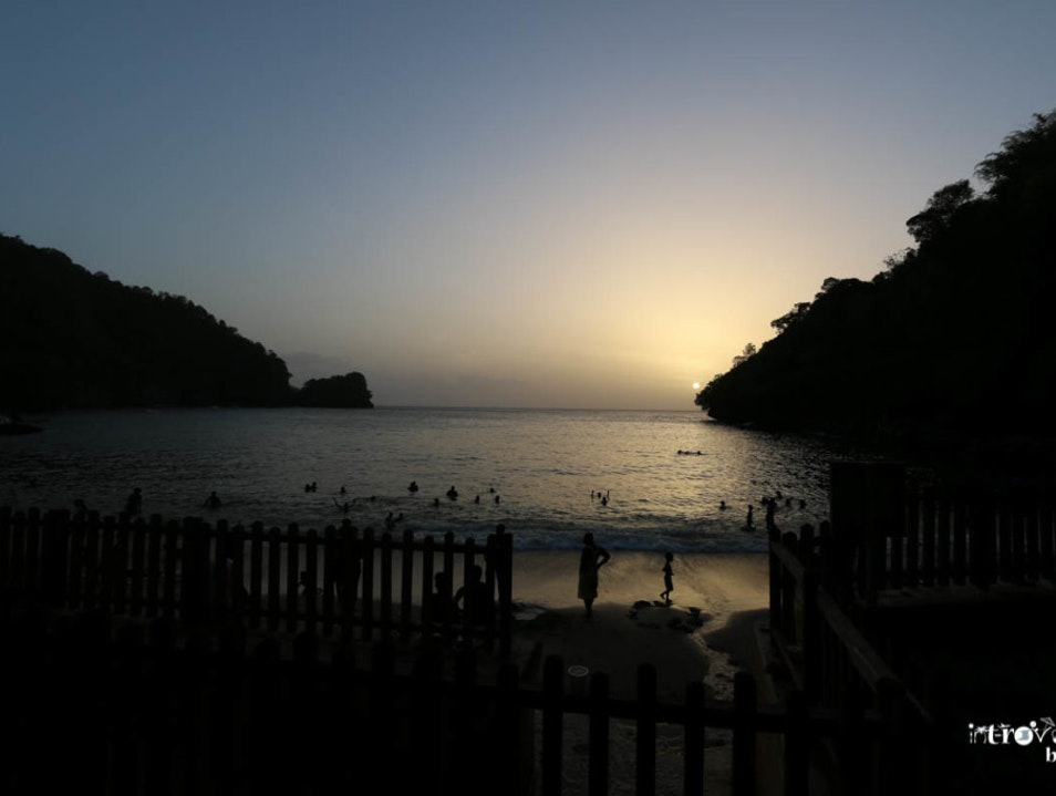 MACQUERIPE BEACH, TRINIDAD AND TOBAGO Chaguaramas  Trinidad and Tobago