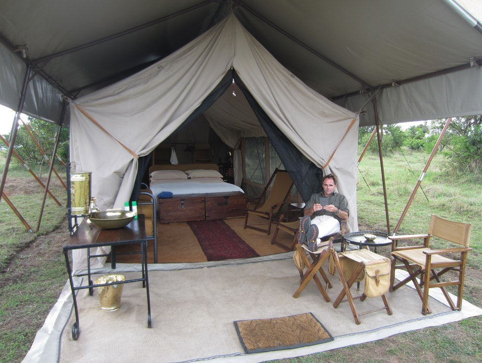 Great Migration experience in a luxury mobile tented camp Serengeti  Tanzania