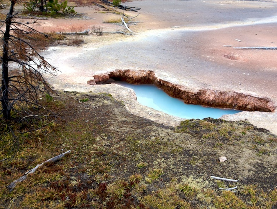 Artist Paint Pots Yellowstone National Park Wyoming United States