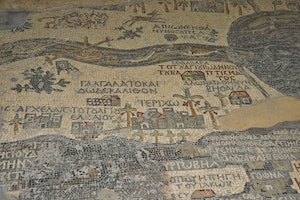 Saint George Church - Mosaic Map