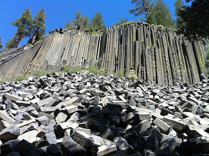 Devils Postpile National Monument Inyo National Forest California United States