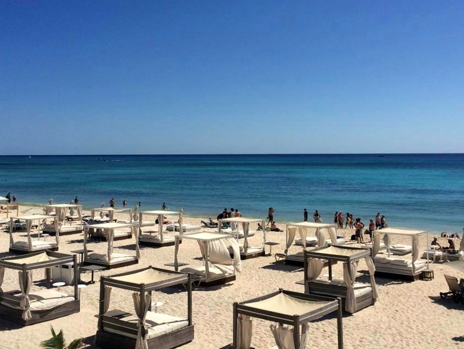 Playa's Most Famous and Wild Beach Club Playa Del Carmen  Mexico