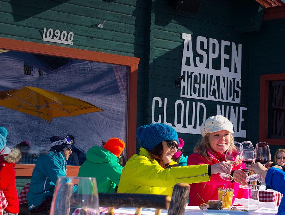 Spend an Afternoon Dining at Cloud Nine Aspen Colorado United States