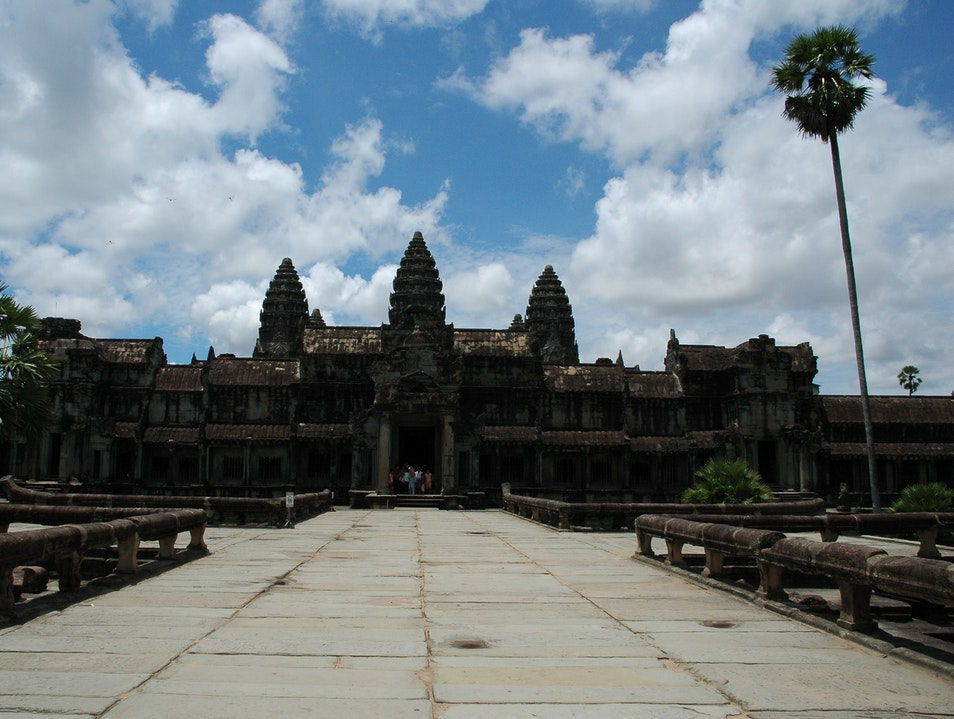 The Heart of Angkor Wat Siem Reap  Cambodia