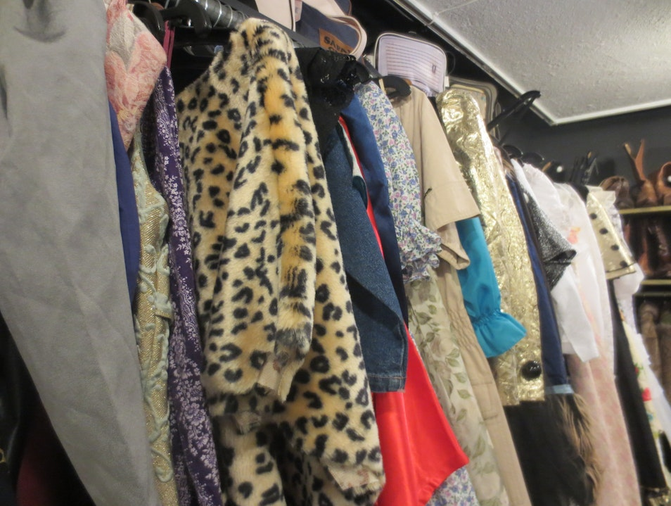 Bazaar for vintage clothing lovers Budapest  Hungary