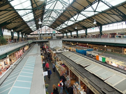 Cardiff Central Market Cardiff  United Kingdom