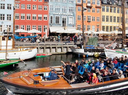 Harbor and canal tour Copenhagen  Denmark