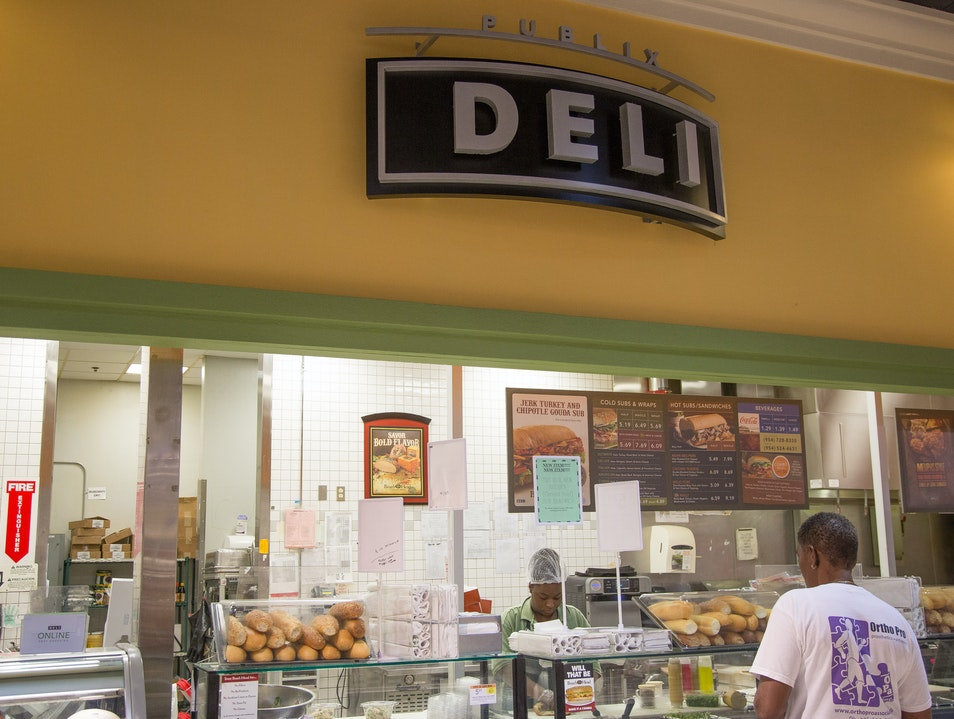 Chow Down on a Publix Sub Fort Lauderdale Florida United States