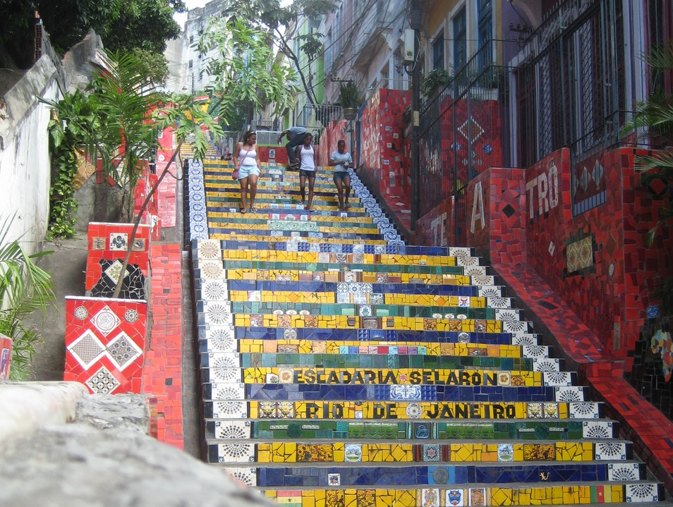 The Escadaria Seleron in Rio   Earth