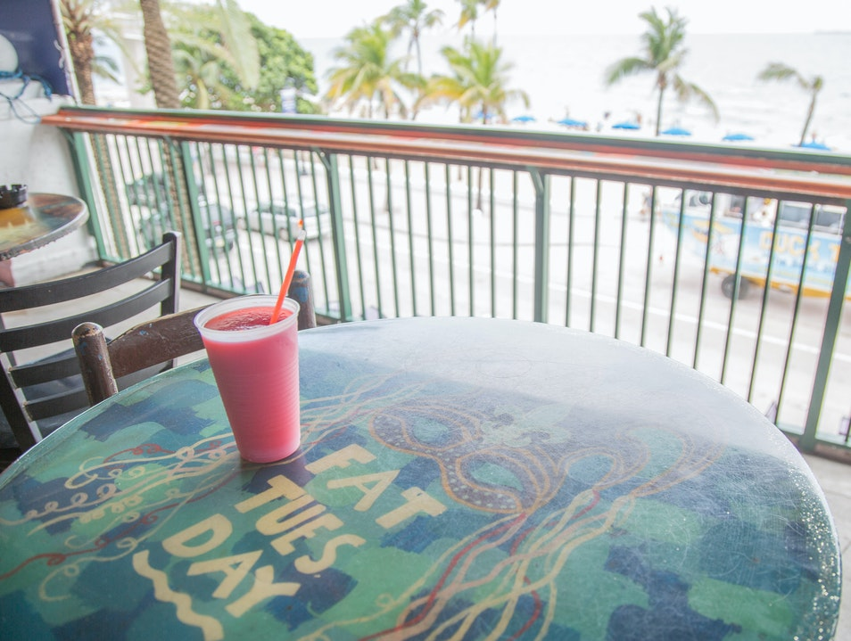 Get a Quick, Frozen Drink at Fat Tuesday Miami Florida United States