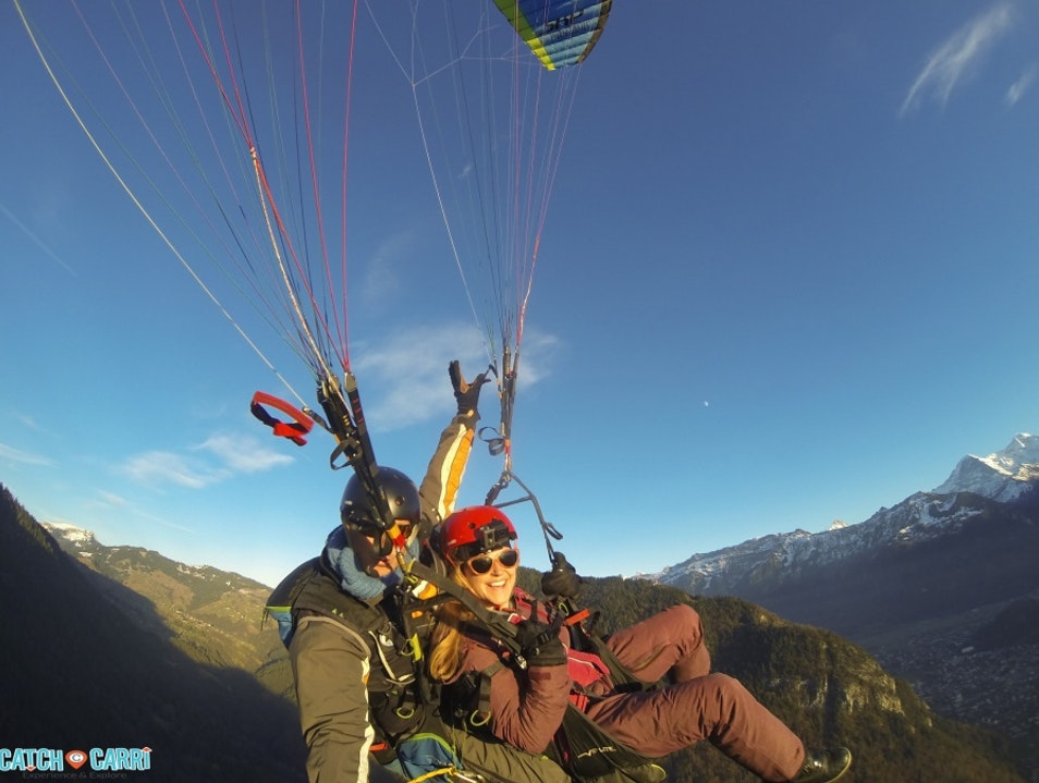 Why Interlaken Switzerland is the Adrenaline Capitol Sundlauenen  Switzerland
