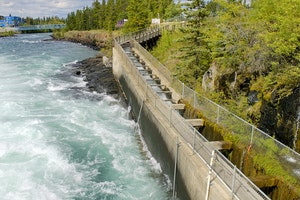 Whitehorse Fish Ladder and Dam